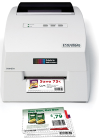 Primera PX450e point-of-sale labelprinter